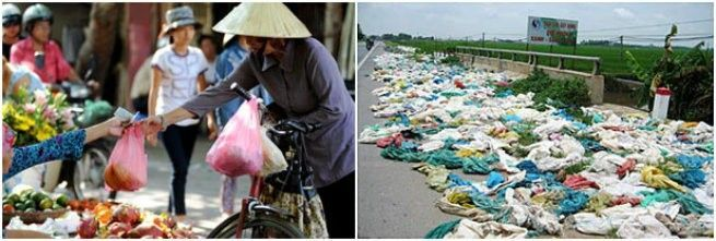 Penggunaan sampah di Vietnam