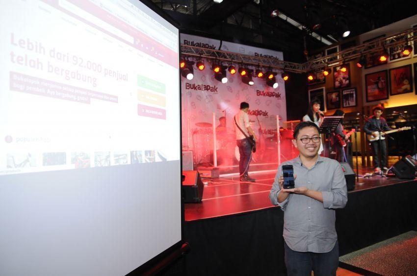 Achmad Zaky pendiri dan CEO bukalapak.com