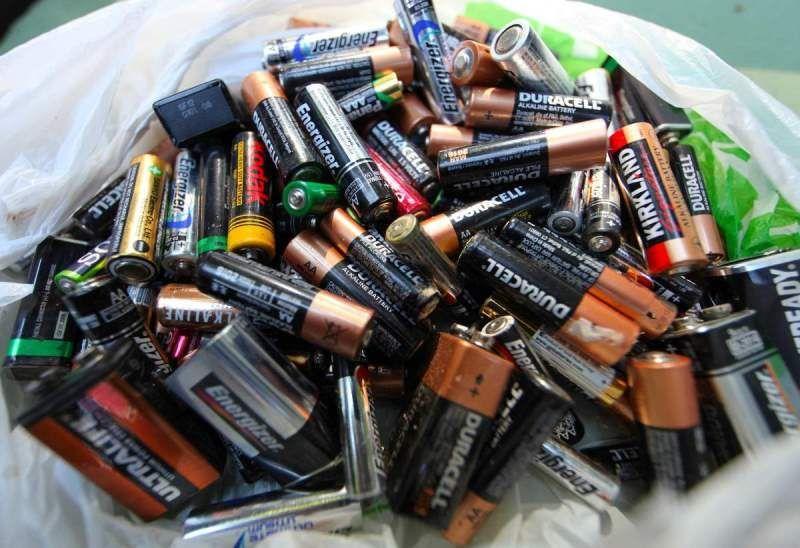 Baterai bekas