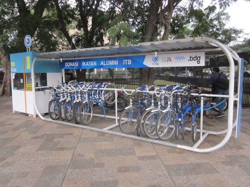 Bike sharing di Bandung