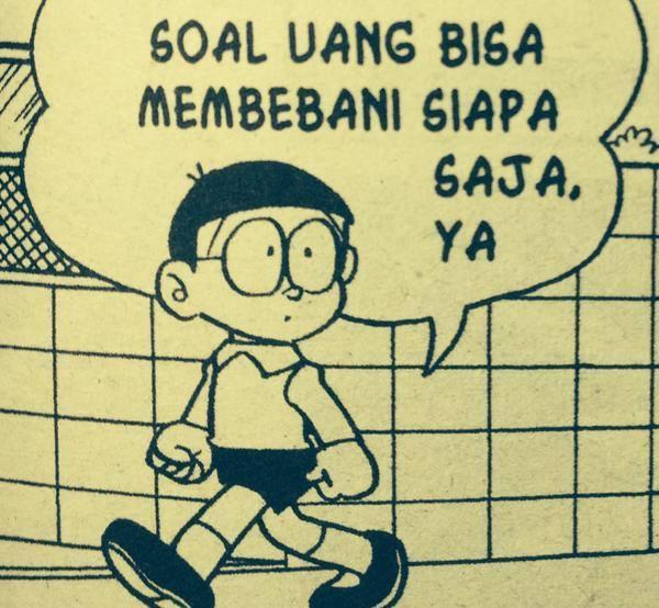 Tuh Nobita aja tahu