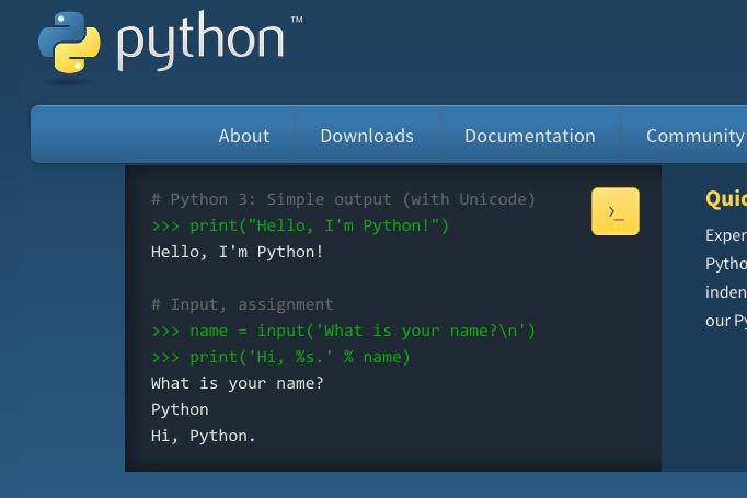 Hai, Phyton!