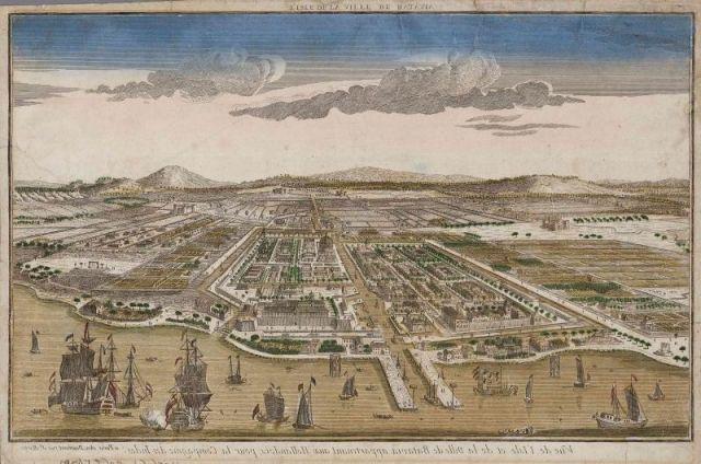 Lokasi strategis membuat Batavia ramai dikunjungi pedagang