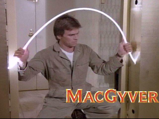 Kreatif kayak Macgyver