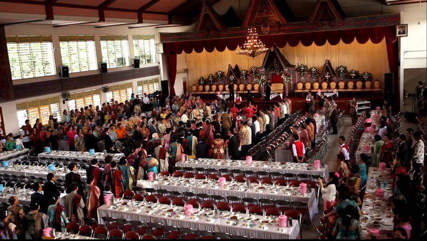 Pesta pernikahan begini, orang tua punya andil besar