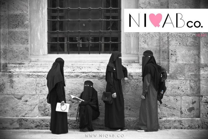 Niqab, masih menyisakan celah untuk mata