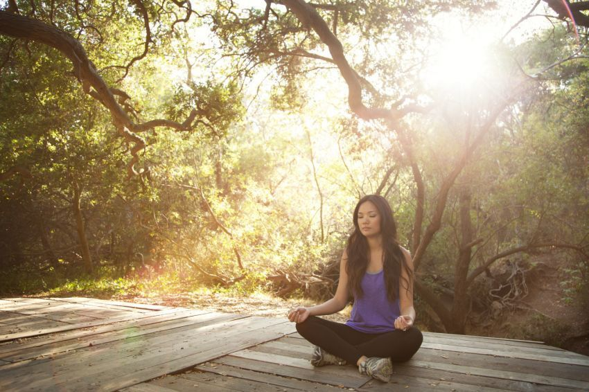 Meditasi bisa menjernihkan pikiranmu
