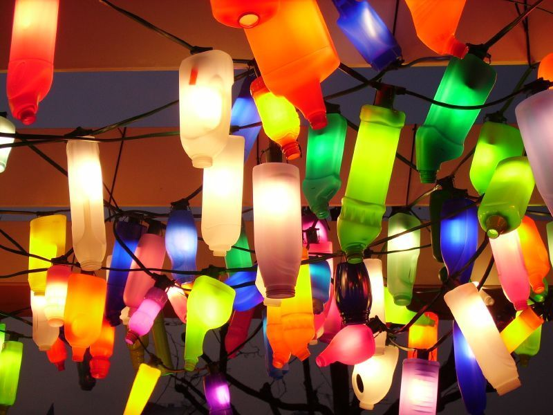 lampu untuk pesta kebunmu