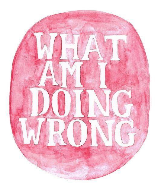 Apa yang salah sih?