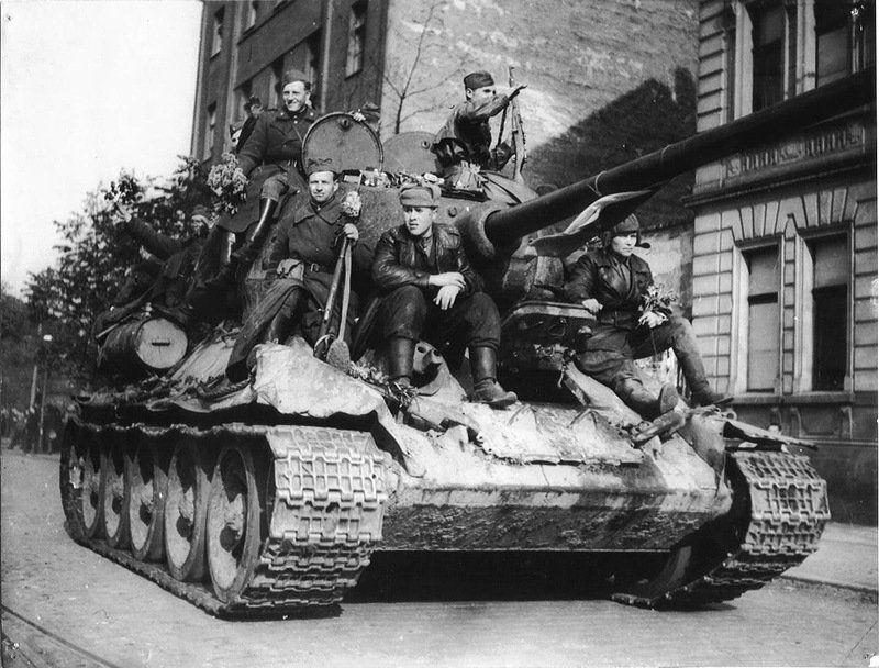 Praha, 1945