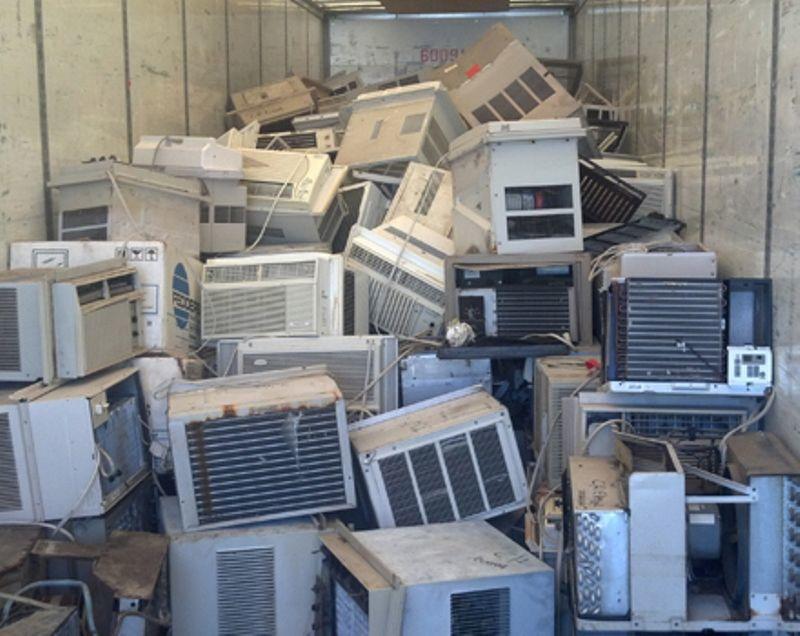 Sampah AC, Kulkas dan freezer