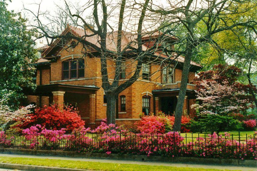 taman dan pepohonan hijau menaikkan nilai jual bangunanmu