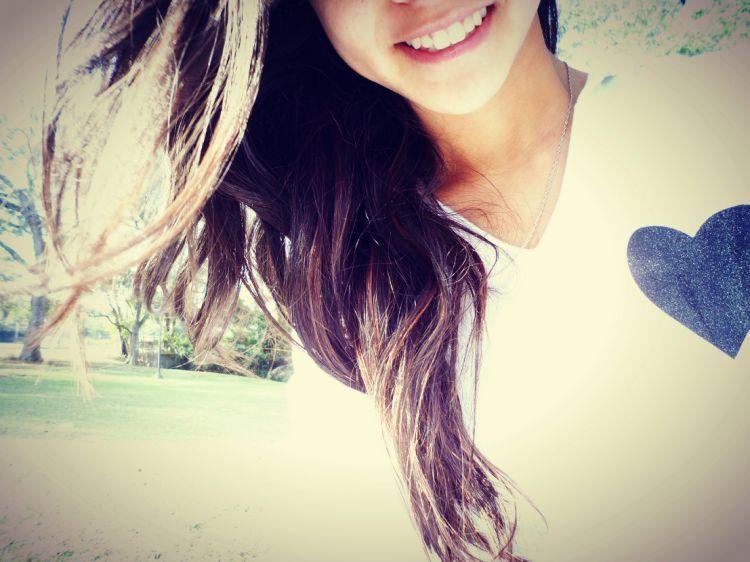Tersenyum lebar-lebar!