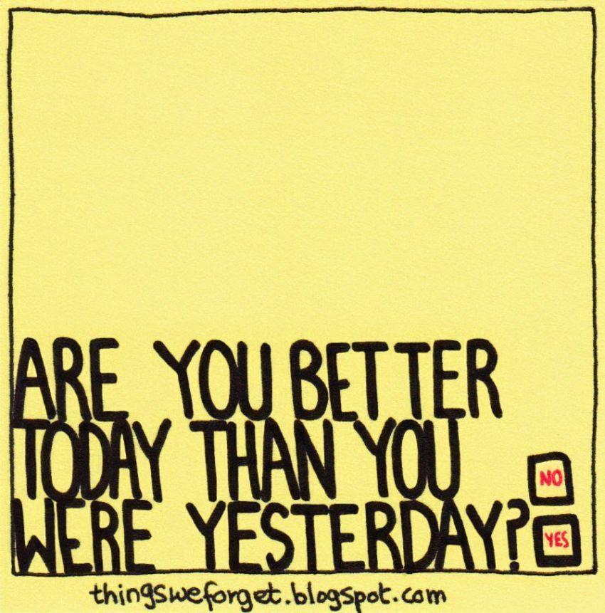 Terus tanyakan pertanyaan ini pada dirimu
