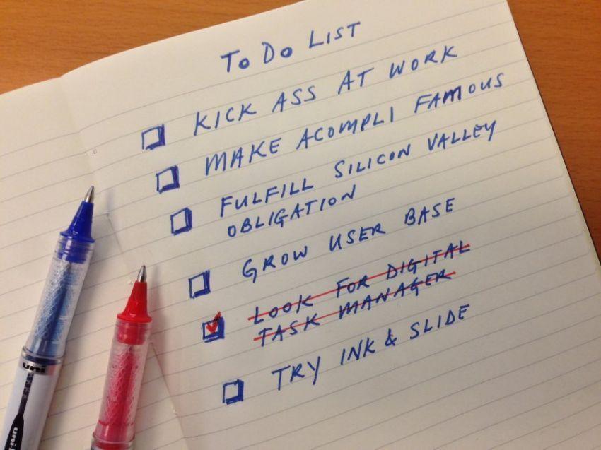 Buat to do listsmu dulu