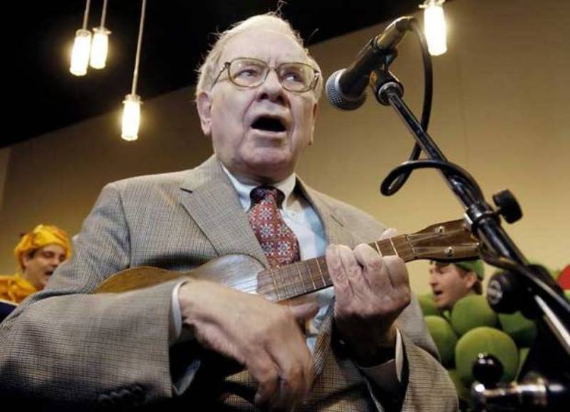 geluti hobimu - Warren Buffett