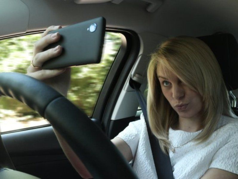 Selfie dulu dah