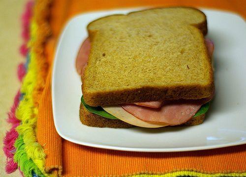 Sandwich ala anak kos