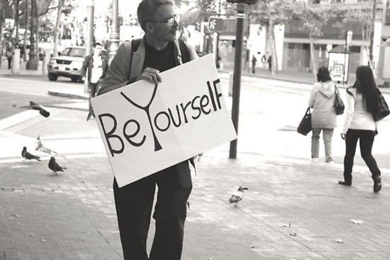 Jadilah dirimu sendiri