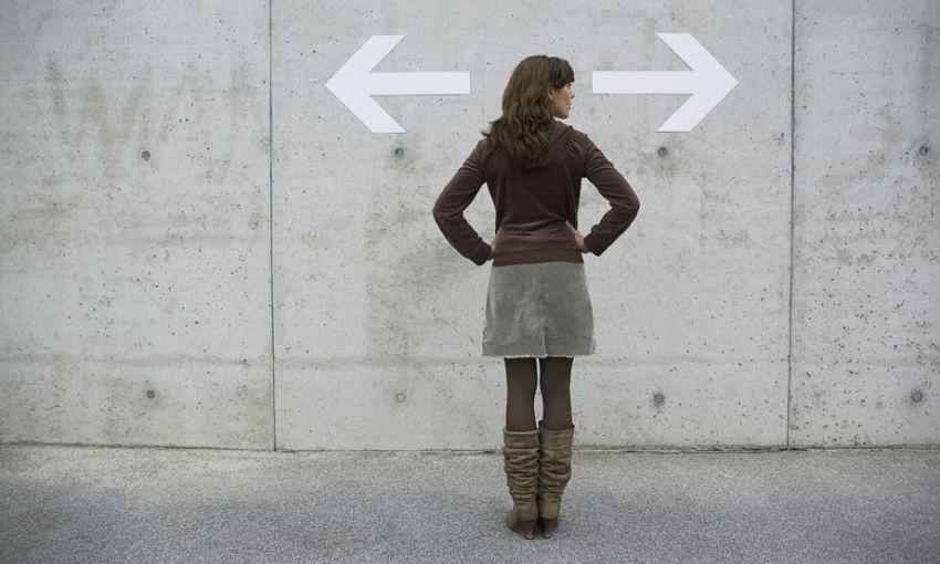 Kiri, kanan atau balik arah?