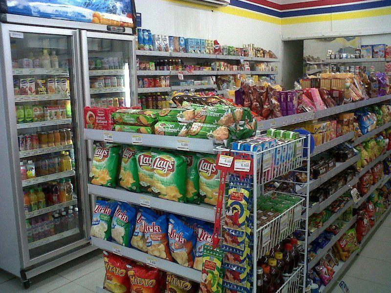 Jajan di mini market
