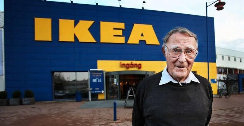 Ingvar Kamprad, kelas ekonomi lebih hemat