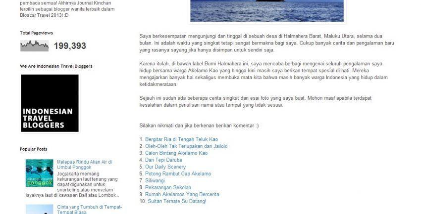 Screen Capture: Cerita serial Bumi Halmahera