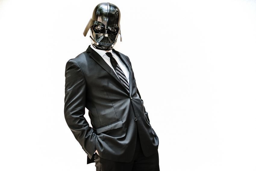 Bikin helm Dart Vader, jangan dijual!