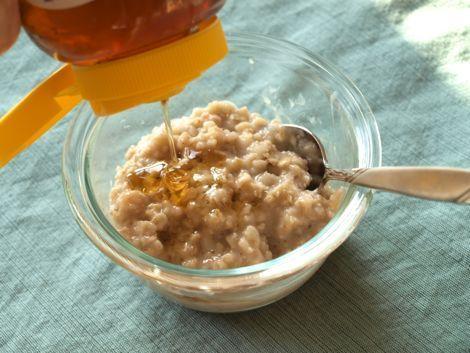 sarapan oatmeal dan madu