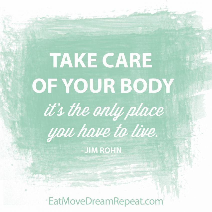 Sayangi badanmu