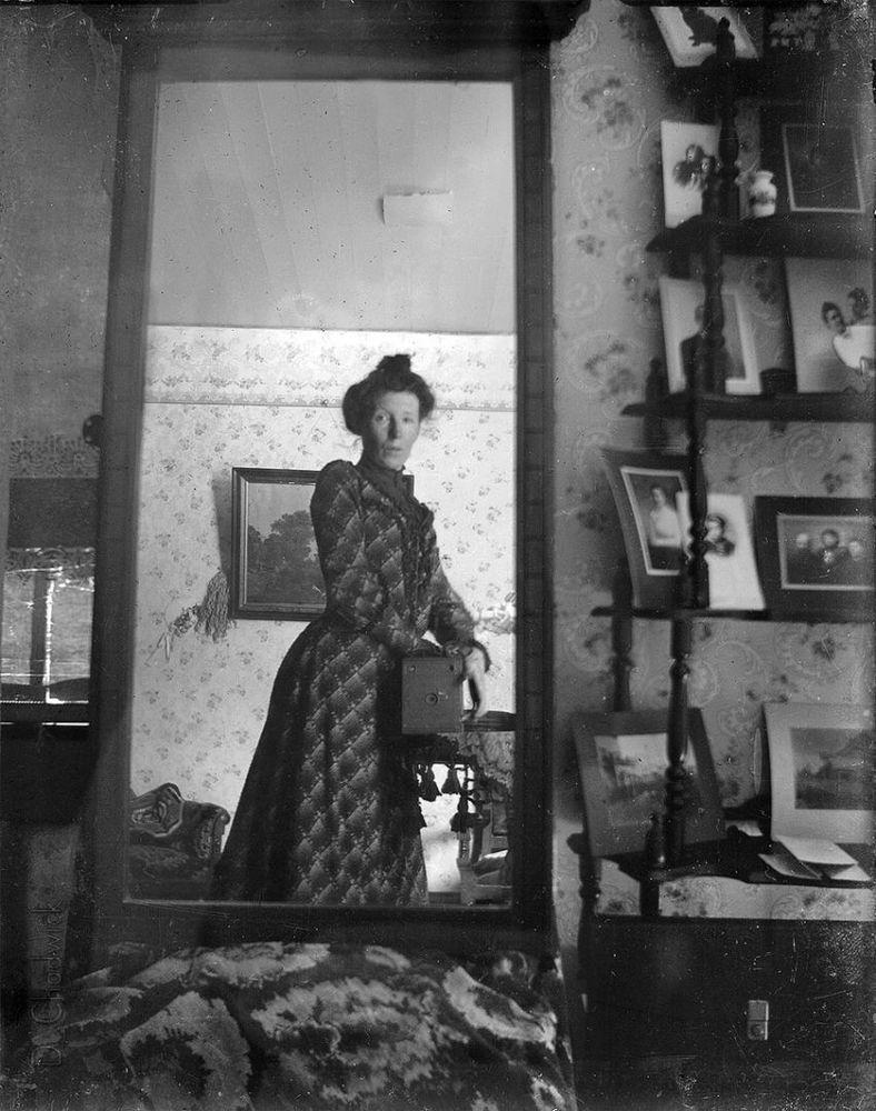 Selfie 1900-an