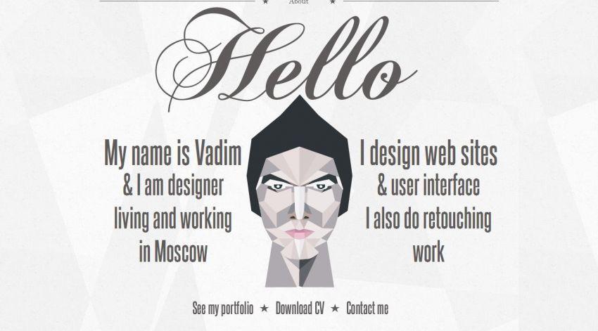 Desain yang unik akan mampu mengunci ketertarikan calon klien atau atasan