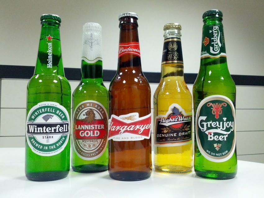 Orang lain mabuk karena beer