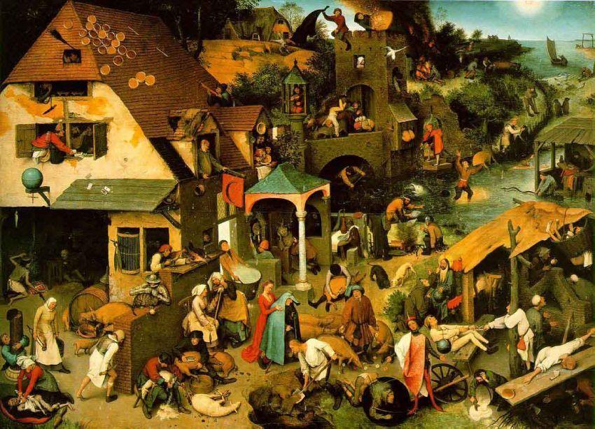 Pieter Bruegel the Elder, 'Netherlandish Proverbs'