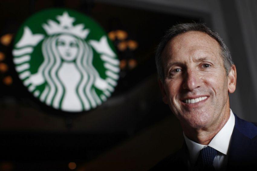 CEO Starbucks-Howard Schultz