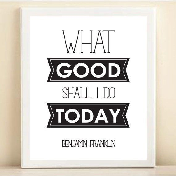 susun tugasmu - Benjamin Franklin