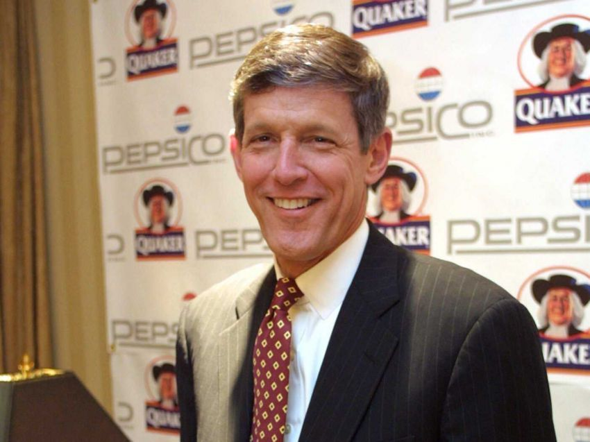 Steve Reinemund, CEO Pepsi: berdoa