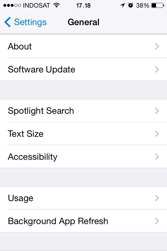 "Tap ""Background App Refresh"""