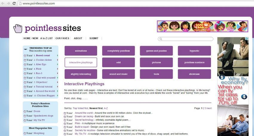 pointless site