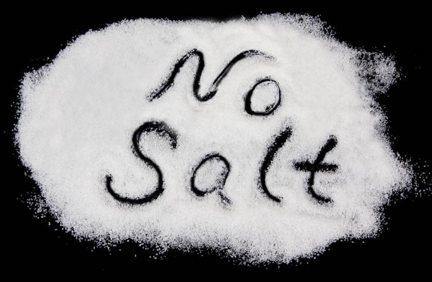 Bye bye, salt!