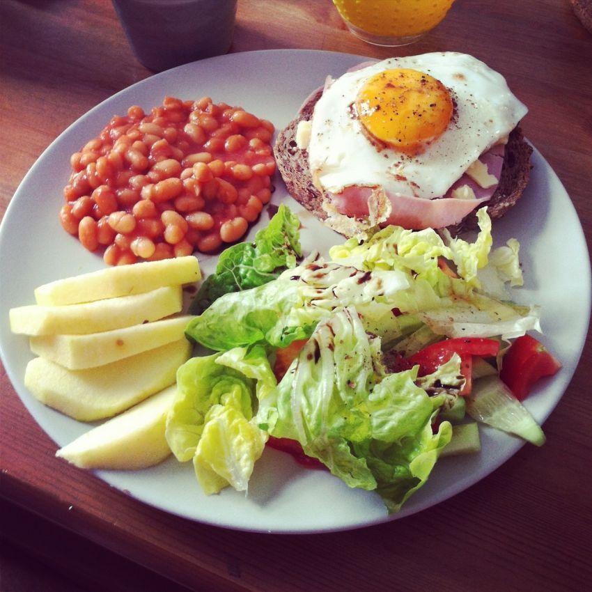 Wajib sarapan tiap pagi