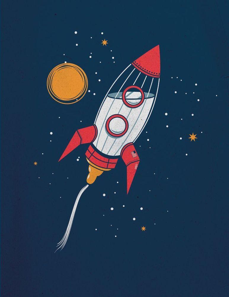 Lihat peluncuran roket