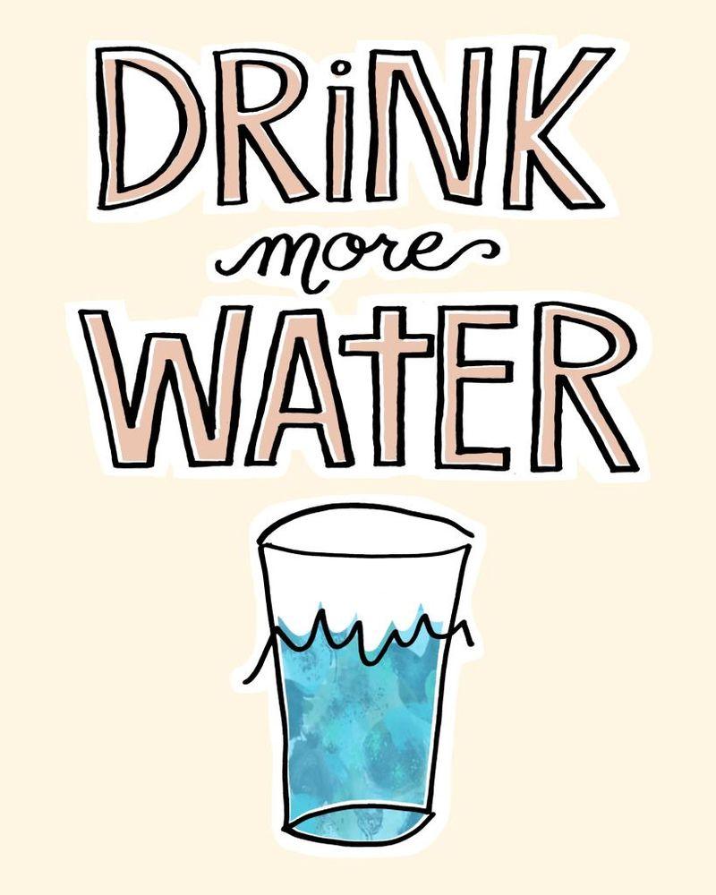 Minum lebih banyak air