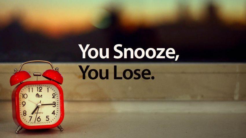 Tombol snooze mengacaukan tidurmu