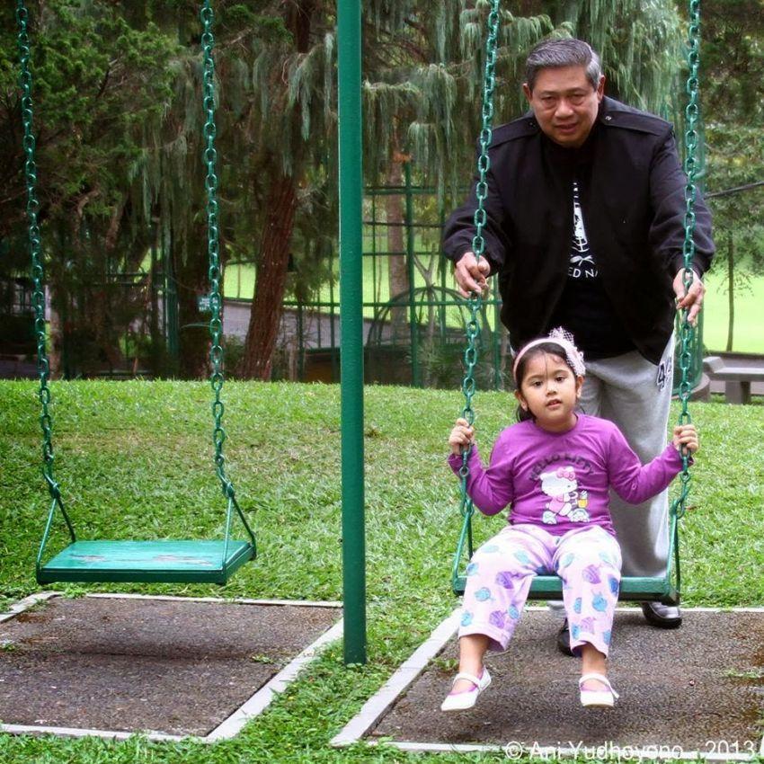 SBY bersama Aira