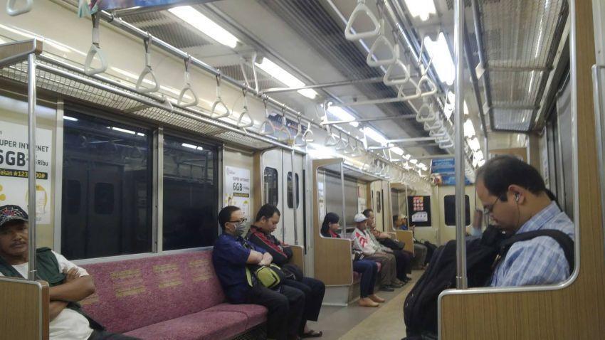 Commuter line sudah nyaman
