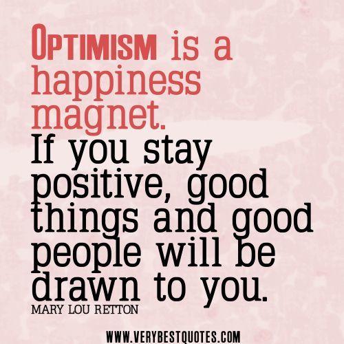berpikir positif dan optimis