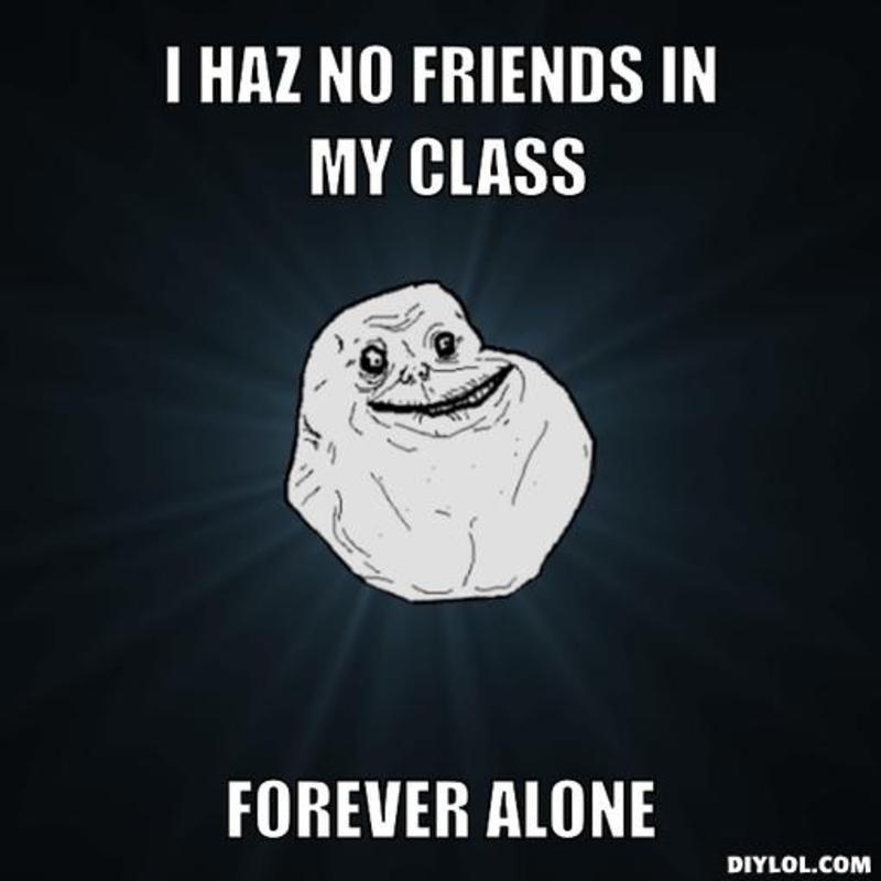 Aku nggak mau sendirian