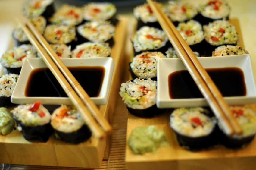 Pastikan sushimu datang bersama cuka