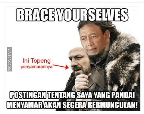 Mulai banyak memes Pak Wiranto